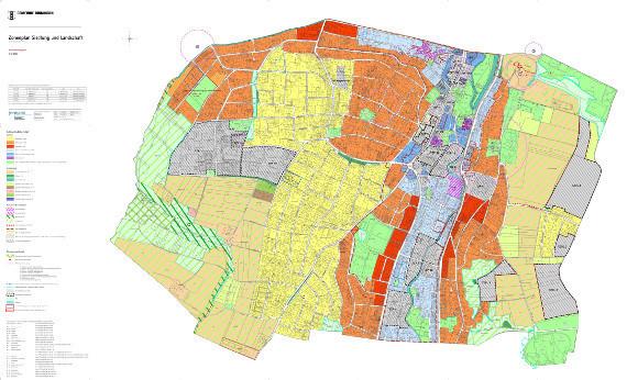 Zonenplan der Gemeinde Binningen (inkl. altrechtlichen Zonen, September 2014)