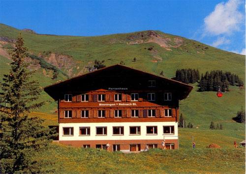 Ferienheim Adelboden/Geils im Sommer